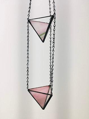 2 Tier Small Hanger - pink/green swirl
