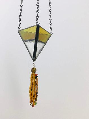 Small Hanger with bead tassel