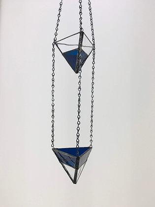 2 Tier Small Hanger - blue