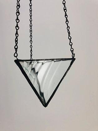 Medium Hanger - Clear Wavy