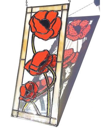 Poppies Panel 3