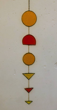 Sun Catcher- orange, yellow