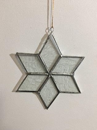 Snowflake - glue chip clear