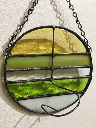 Round Hanger - green