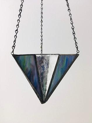 Large V Hanger - blue marble