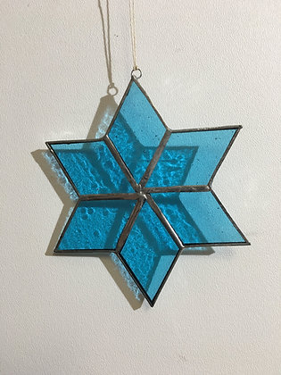 Snowflake - light teal