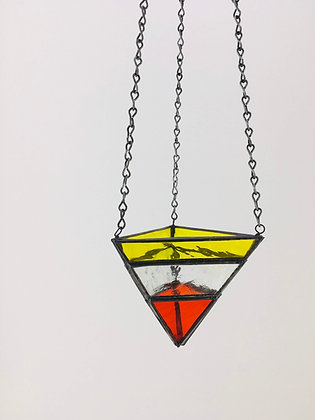 Medium Hanger - yellow & orange