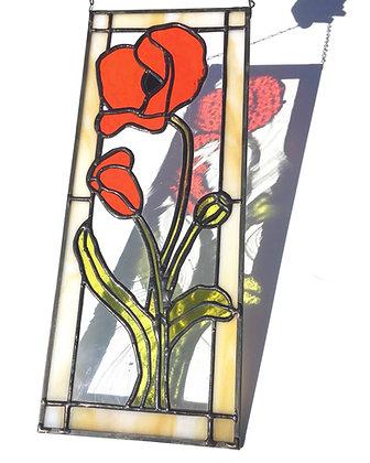 Poppies Panel 1
