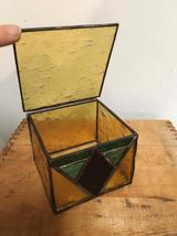 Gold lidded box