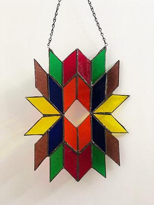 Sun Catcher Diamond Design- Rainbow
