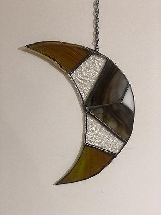 Crescent Moon- brown