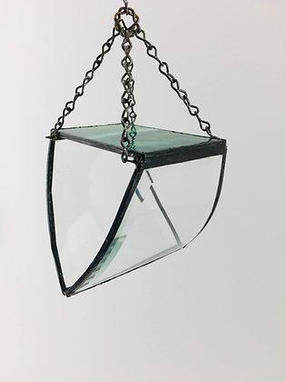 Curved Beveled Design -  green top