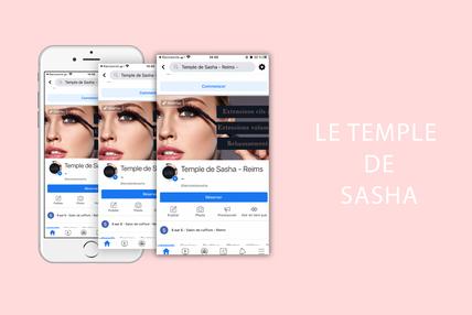 Optimisation et gestion de la page facebook du Temple de Sasha
