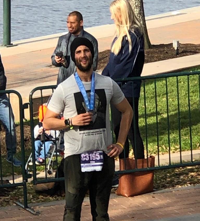 Media maratón en honor a Rigo.