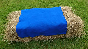 Hay bale cover