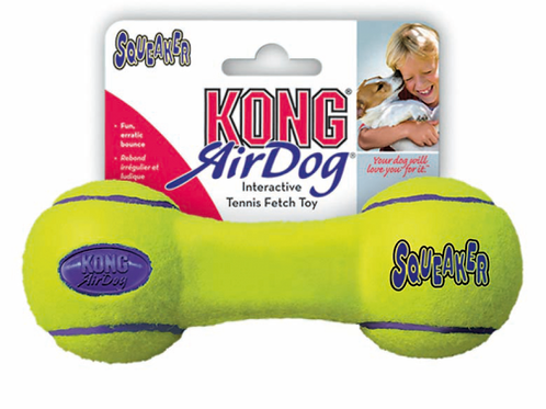 KONG Air Squeaker Dumbbell