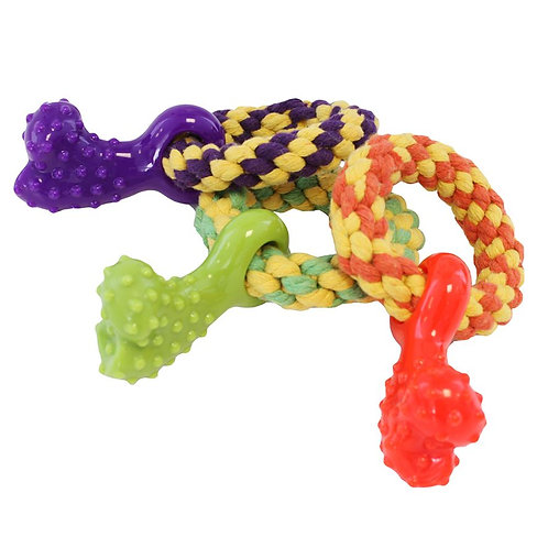 Little Rascals Teething Rope Ring