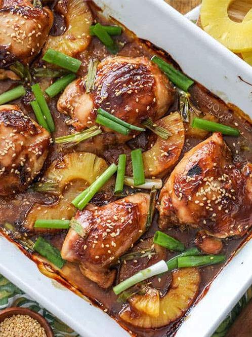Spicy Pineapple Teriyaki Chicken