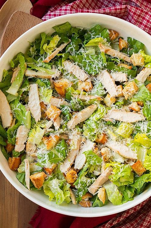 Roasted Garlic Chicken Caesar Salad