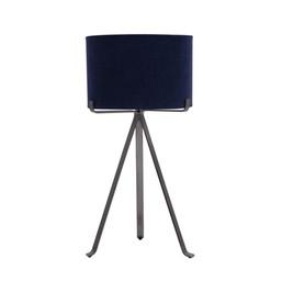 luminária tripe de mesa flat