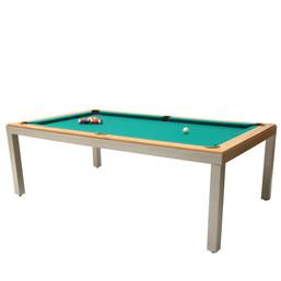 mesa sinuca e jantar jogos