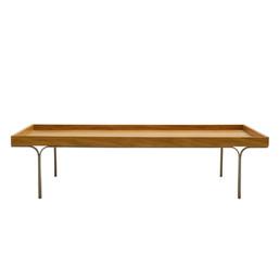 mesa de centro madeira flat