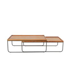 mesa de centro trenó