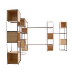 estante modular expandida