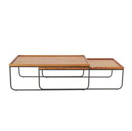 mesa de centro trenó leve