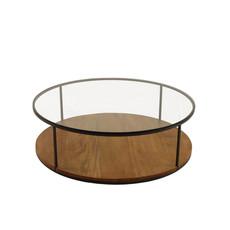 mesa de centro redonda coringa