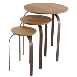 mesa lateral ninho flat