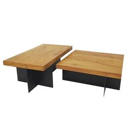 mesa de centro chapa flat