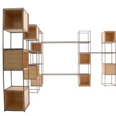 estante modular leve