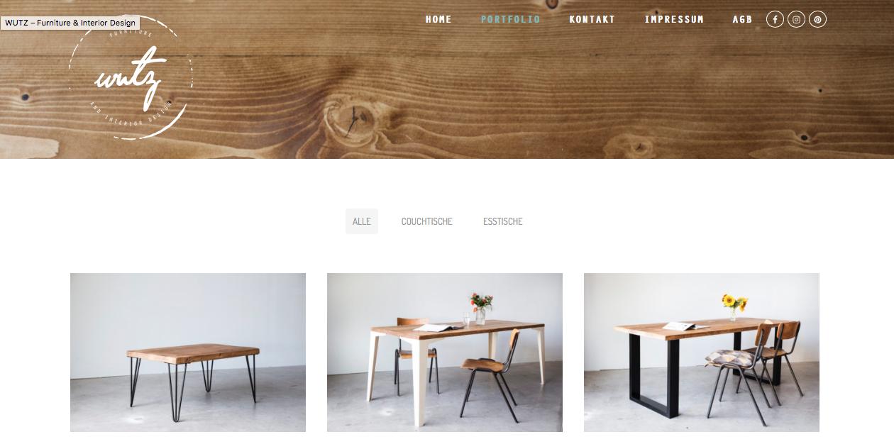 Wutz Webseite