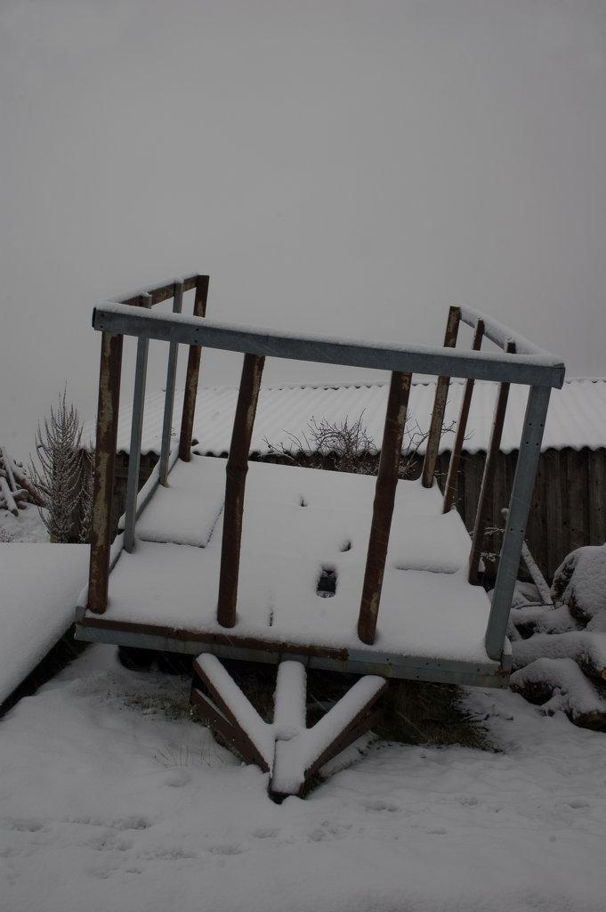 Aquí nieva