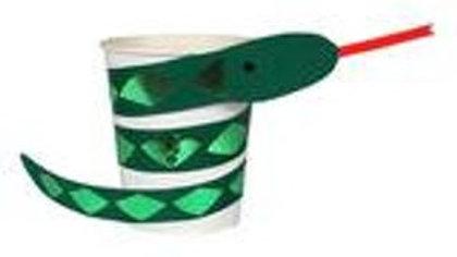 Go Wild Snake Cups