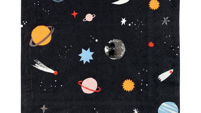 To the Moon Napkins