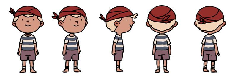 Lukas character development