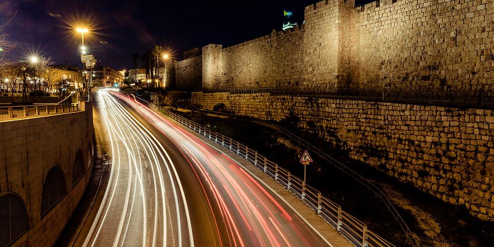 (SOLD OUT) סדנת צילום מריחות ולילה בירושלים (בהנחיית ויקטור זיסלין)