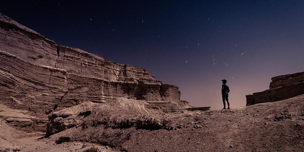 """סדנת צילום """"לילה לבן"""" בחווארי מצדה - צילום נוף מדברי לאור ירח מלא"""