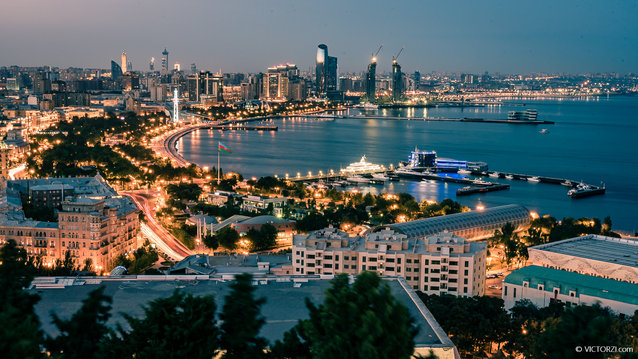 Baku Azerbaijan Photography