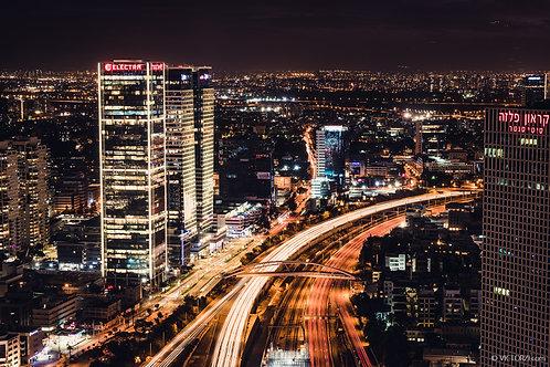 סדנת צילום לילה בתל אביב