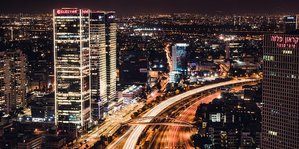 SOLD OUT - סדנת צילום לילה ומריחות אור בתל אביב (בהנחיית ויקטור זיסלין)