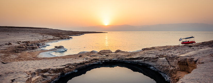 Cruise at the Dead Sea