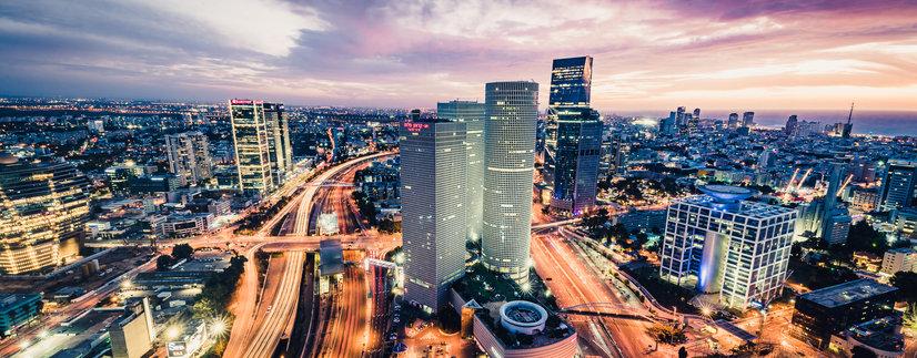 Night Photography in Tel Aviv