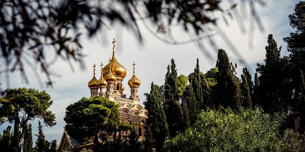 טיול צילום נופים ותרבויות בירושלים - מקומות אחרונים