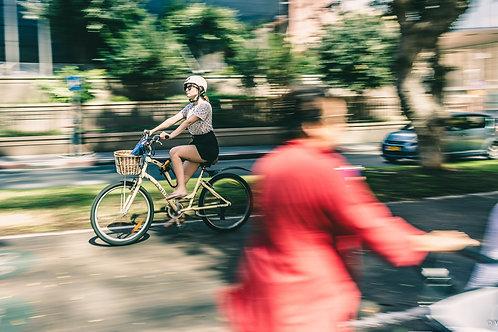 סדנת צילום מריחות תנועה ופאנינג בשדרות רוטשילד