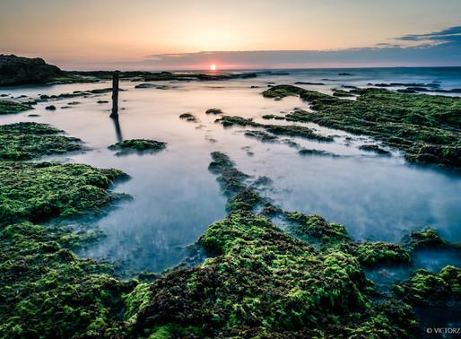 צילום שקיעות בחוף פלמחים - החוויה האישית שלי + טיפ של אלופים