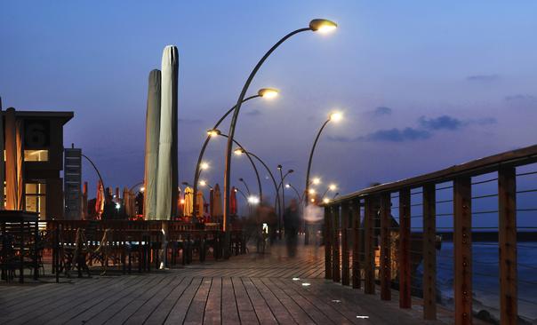 האורות והנורות בנמל תל אביב 2009