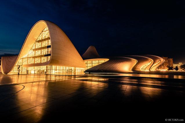 Heydar Aliev Center Baku Azerbaijan